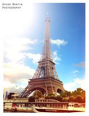Tour de Eiffel (Ayush Bhatia Photography) Tags: paris france tower tour eiffel romance flare eiffet 550d