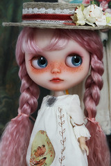 Last photo of 2012 (_*catching up*) Tags: pink hat by wings doll dress flight have mohair blythe custom cavaco claudina i