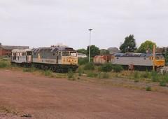 """Cotswold Rail Class 31/1, 31206, & Class 47/3's 47365 & 47033 (37190 """"Dalzell"""") Tags: dutch brian spoon brush international gloucester ped duff sulzer rfd class47 type4 unbranded class31 31206 railfreightdistribution 47033 civilengineers 47365 cotswoldrail class470 class311 class473 d1613 d1884 d5630 golye"""