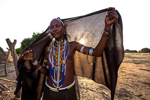 portrait of a woman tribe Erbore