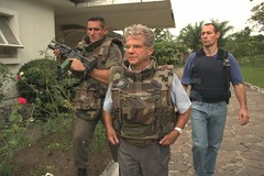 0000329494-017 (artimis_hk) Tags: walking soldier rifle security civilwar prominentpersons 1997 congo ambassador protection warandmilitary escort policeman armedforces bodyguard brazzaville gendarmerie frencharmy june1997 frenchcelebrity occupationsandwork crimelawandjustice externalview celebrityclothing presenceinafrica domesticpolicy politicalcrisis frenchrepublic africanpolitics conflictinafrica franceabroad warconsequence frencharmedforces armedsoldier armyabroad soldierclothing celebritymovementofthebody bulletproofvest armysafety thearmy m16rifle diplomacyoffrance europeabroad soldierwork congoandwar congolesepolitics presenceincongo ambassadorinbrazzaville cesaireraymond epign operationpelican