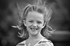 Smiley Face :-) (Proleshi) Tags: blackandwhite cute blancoynegro girl smile face vintage happy nikon child happiness muchacha throughtheeyesofachild d300s proleshi jamaljosephs