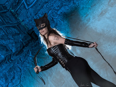 Hello Catty (Isidr Cea) Tags: catwoman marmalvido wwwisidroceacom