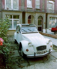 My 2CV6 when it was new, August 1989 (colin9007) Tags: citroen deux 2cv chevaux 2cv6