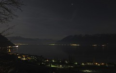 nighty night (Riex) Tags: lake night landscape switzerland riviera nocturnal suisse lac scene f2 leman paysage nuit nocturne cully vaud s95 canonpowershots95