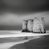 Botany Bay (James ~ Anderson) Tags: sea beach monochrome clouds canon bay coast chalk kent big sand long exposure foreboding hard lee botany grad tamron stacks stopper 550d 1750mm 06nd