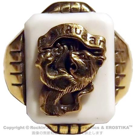 Erostika - 「惡魔啦啦隊」戒指&「骷髏女孩」項鍊