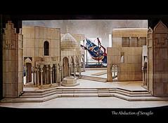 Model of Stage Set (b16dyr) Tags: paris france model parisopera stageset lepalaisgarnier theabductionfromtheseraglio nationaloperaofparis