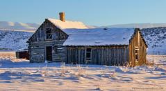 Chesterfield Idaho ghost town (Pattys-photos) Tags: winter idaho ghosttown chesterfield nikkor18200mm nikond7000