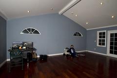 Day 2184 (evaxebra) Tags: new blue house home window giant studio floor 365 hardwood 365days evaxebra