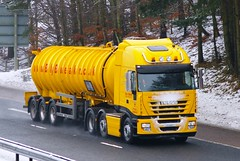 IVECO Stralis - BILLY BOWIE Tankers Ltd. (scotrailm 63A) Tags: bowie trucks tankers lorries