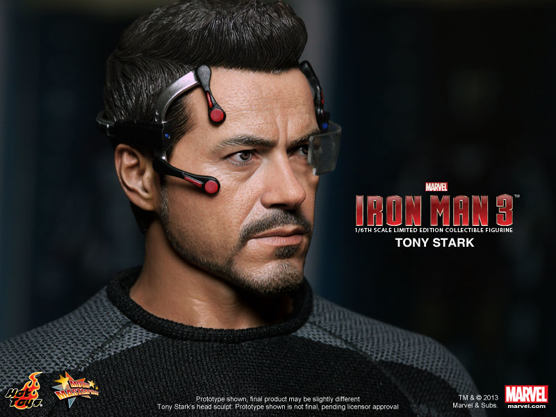 Hot Toys - MMS191 - 鋼鐵人3: 1/6 東尼‧史塔克