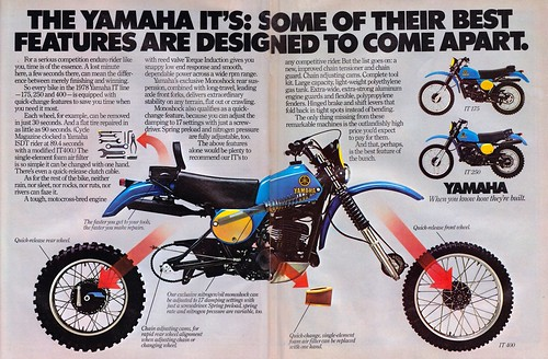 yamaha it. 1978 yamaha it yamaha it