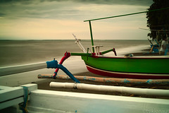 Boats look to the Ocean (tsiklonaut) Tags: ocean travel sea sky bali motion beach water indonesia poster landscape 3d still asia indian dramatic vivid sigma front explore filter lee gradient southeast grad effect depth indonesian hitech cpl graduated discover  foveon  x3   heliopan       shpmc dp2s balinesia