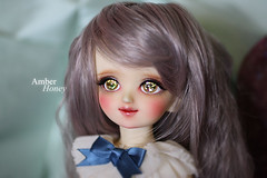 Magical girl (Amber-Honey) Tags: mirror licht amber oscar eyes doll caroline honey bjd volks yosd urethane yotenshi viridianhouse
