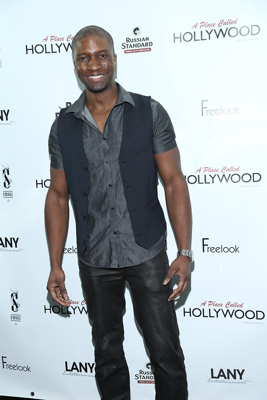 \'A Place Called Hollywood\' Official Wrap Party at Smoke Steakhouse Featuring: Adetokumboh M\'Cormack - WENN.com