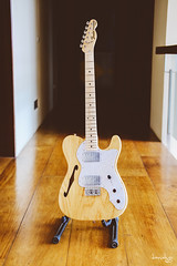 Fender 72 Thinline Telecaster (MIJ) (Daniel Y. Go) Tags: fuji fujixpro2 xpro2 philippines fender thinline guitar telecaster music