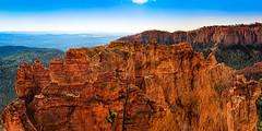 Black Birch Canyon (Ed Rosack) Tags: clear rock usa hoodoo canyon sky edrosack haze cliffs brycecanyonnationalpark utah panorama explore