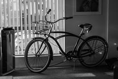 My bike (kengikat40) Tags: beachcruiser bike phatcycles blackandwhitephotography