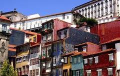 ribeira (isabellerosenberg) Tags: porto portugal building ribeira house architecture tiles azulejo