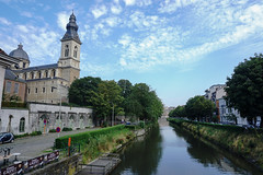 Across the River (UnsignedZero) Tags: belgium ghent item landscapes landscaping object out outdoor outdoors outside outsides sunny water weather