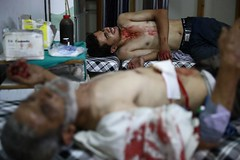 Conflictos Siria (Seal Informativa) Tags: topshots horizontal middleeast civilwar revolt casualty civilianpopulation consequencesofwar victim airraid bombardment douma syria