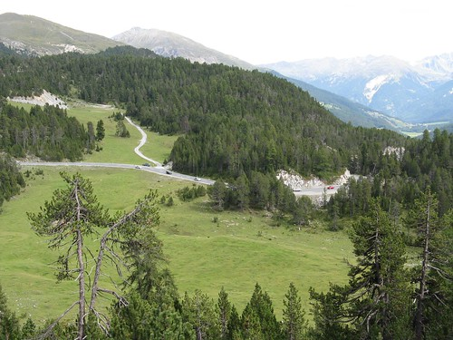 where I came to the Ofenpass road
