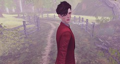 Give me one last smile to remember you by... (drayton.miles) Tags: sad bye goodbye lover love drayton doyle marrison ghost haunted death suit second sl secondlife slytherin hogwarts hufflepuff professor teacher cheerful upset ravenclaw gryffindor