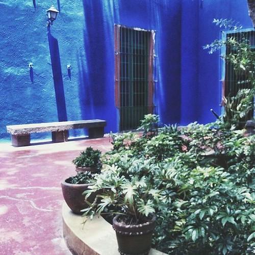 La Casa Azul de Frida Kahlo  #cdmx #coyoacan #turismodf #turismocdmx #fridakhalo #xperia
