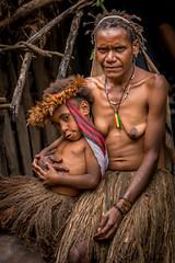 Women from the Dani's Tribe (tehhanlin) Tags: indonesia papua westpapua wamena irianjaya jayapura thedanis sukudani ikipalin noken koteka sony a7r2 a7rm2 ngc travel humaninterest portrait festival baliemvalley lembahbaliem