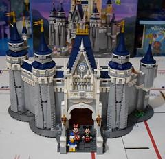 LEGO Disney Castle Set - Disneyland Purchase - Assembly - Stage 9 Completed (drj1828) Tags: us disneyland 2016 lego disney castle purchase 71040 assembly