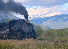 Out of the Past (Woody H1) Tags: railroad durango silverton colorado historic steam engine locomotive mountain narrowgauge coal