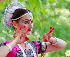 beauty is in the eye of the beholder (teknoec) Tags: lotus day szeged botanic garden parvati dance odissi