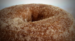 Edge of the Abyss (sea turtle) Tags: seatte capitolhill food restaurant 12th 12thavenue doughnut donut donuts doughnuts mightyo mightyodonuts mightyodoughnuts cinnamon sugar closeup macro crystal crystals sweet pastry