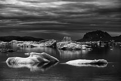 (bon__007) Tags: groenlandia greenland iceberg fiordo fiord sermilik ghiaccio ice arctic monochrome sea