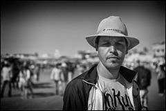 The Man in the Hat (Photoburglar) Tags: morroco nikon d610 marrakesh jmaaelfnaa medina mono blackand white blackandwhite travel people portrait hat portraiture
