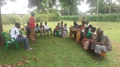 Field work in Kamuli District, Uganda for the mPig project