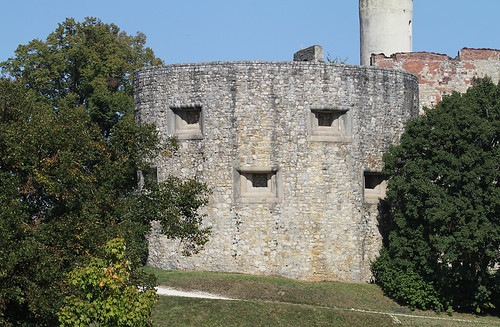 The face of castle Hellenstein