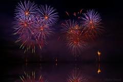 Fireworks Decazeville 2016 (Sbastien Vermande) Tags: canon7d france midipyrnes mine pit aveyron decazeville fireworks rflexion reflection feuxdartifice nuit night pauselongue longexposure sigma1770exdc vermande saariysqualitypictures