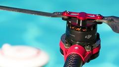 Drone rotor (Ookpik Photo Video Drone) Tags: handlewithcare drone propeller blade rotor moteur multirotor macromondays aerial