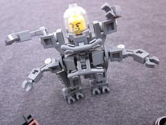 The ARK 4 (Rhino 114) Tags: lego build mech minifigure hardsuit