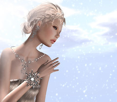 Let it snow (Anna Sapphire) Tags: fashion secondlife fashionblog leezu finesmith lelutka glamaffair annasapphire