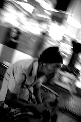 Old Man (kancrut) Tags: people bw indonesia streetphotography