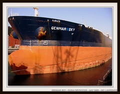 GENMAR SKY (IMO: 9322279) (United World Marine) Tags: sky marine dubai ship vessel maritime oil hull drydock tanker imo uwm antifouling coatings genmar drydocking 9322279