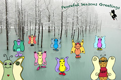 Peace Seasons Greeting THE PEANUT PEOPLE (The Peanut People) Tags: people love holidays seasons sam milo happiness harmony rosemary kingfisher peanut dimples greetings sheila bubbe wellbeing the swallo zizzard