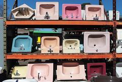 Sinks (skipmoore) Tags: berkeley published recycling porcelain sinks ohmegasalvage berkeleyside