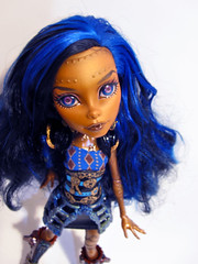Robecca 2.0 (nonaptime) Tags: monster high ooak steam cleo rule denile recolor ghouls repaint robecca