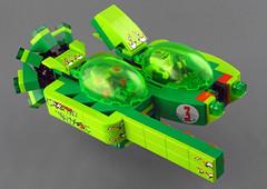 GARC Ajax Xenojet-Z (halfbeak) Tags: lego space attitude moc garc xenojet ajaxxenojetzcazzie xenomork
