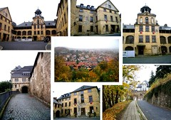 Collage Blankenburg Castle / Schloss Blankenburg (caledoniafan) Tags: germany deutschland guelph harz blankenburg nationalgeographic sachsenanhalt fujifilmfinepix yabbadabbadoo welfen harzmountains nspp schlossblankenburg houseofwelf caledoniafan finepixj110w blankenburgcastle