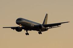 "boeing 757-24apf (Matt ""Linus"" Ottosen) Tags: arizona sky phoenix harbor airport nikon united ups international service boeing parcel 757 phx skyharbor unitedparcelservice 757200 kphx phoenixskyharborinternationalairport 75724apf d7000"